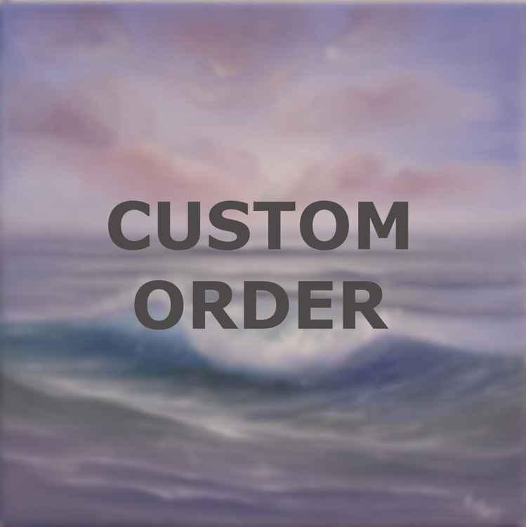 "Custom Order 12x12"""