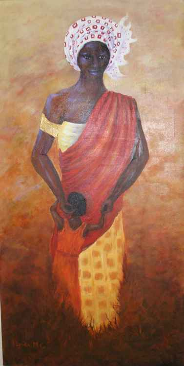 African Mother and Child -