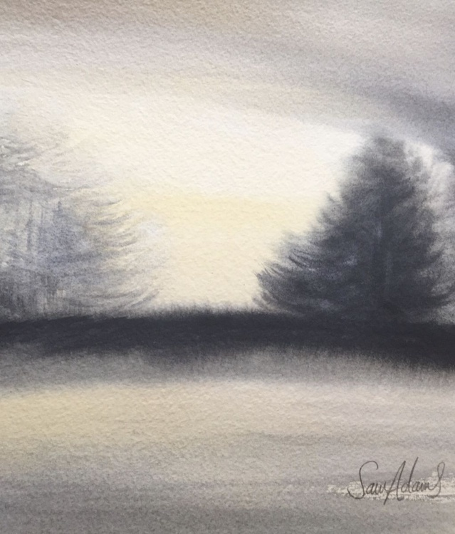 Pines by the lake - Image 0