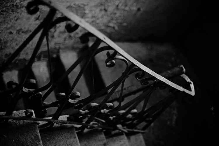 Stair railing -