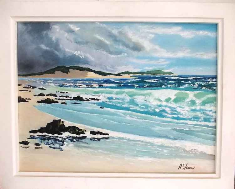 Kanon Beach scene