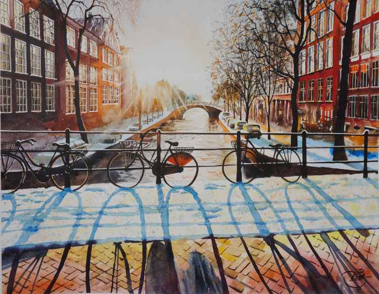 Sunny Amsterdam -