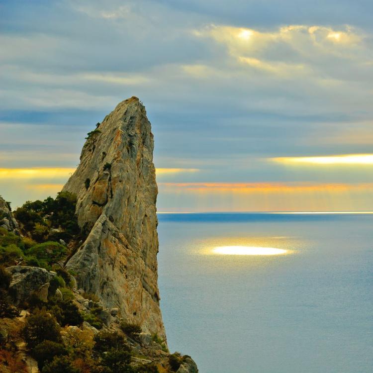 Golden ray of sun. - Image 0