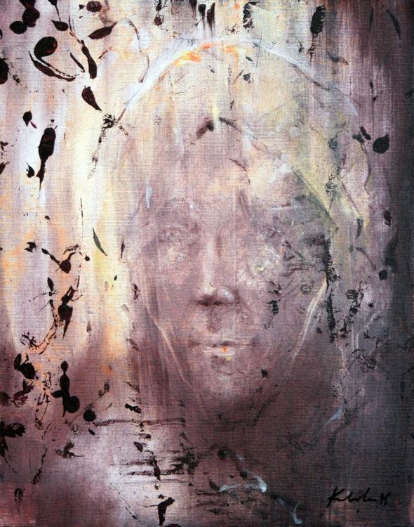 MEMORY MARK HUMAN FACE PORTRETURE TRAVELER HUMAN CONDITION PERENITY ONIRIC ART BY OVIDIU KLOSKA - Image 0