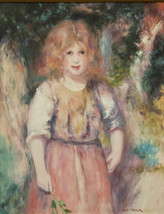 Gypsy Girl (after Renoir) - Image 0