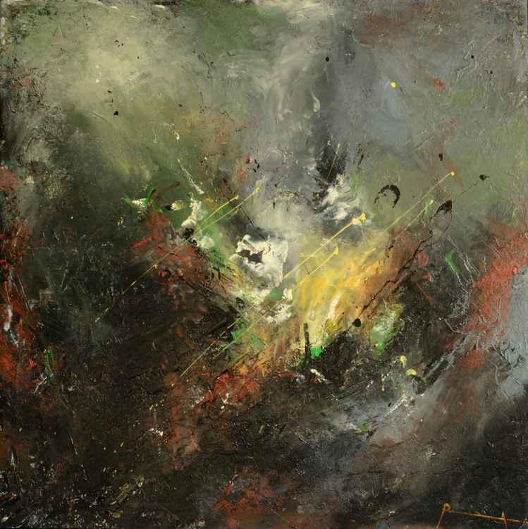 """""""L'espace colorée"""" abstract art"""