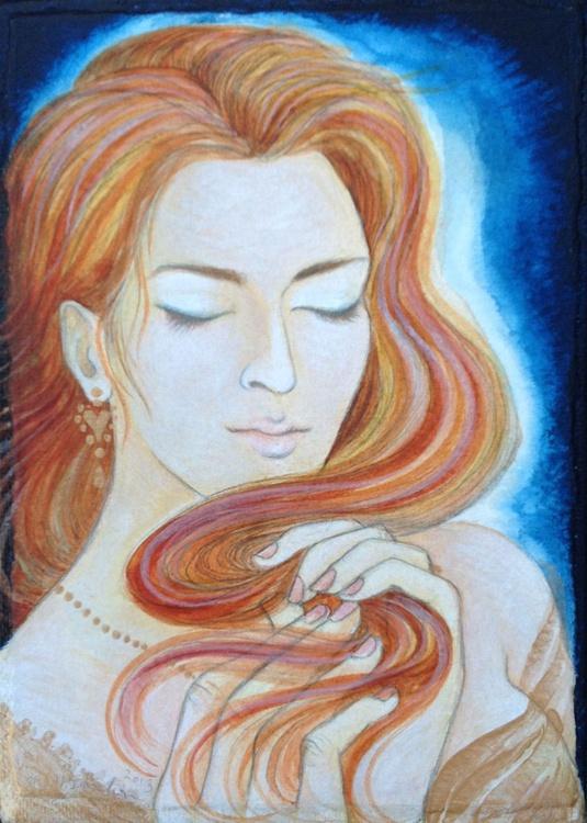 Golden Brown - her serpentine hair - Image 0