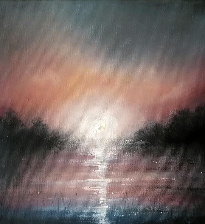 Pink lake - Image 0