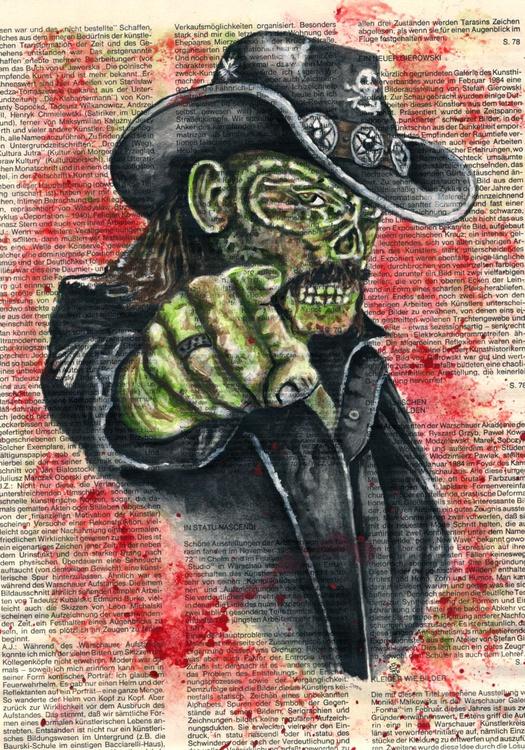 Lemmy Kilmister Motörhead - Like a Zombie - Image 0