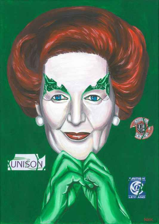 Margaret Thatcher as Poison Ivy