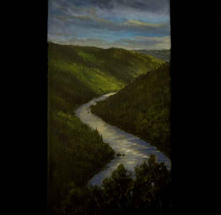 A River View -
