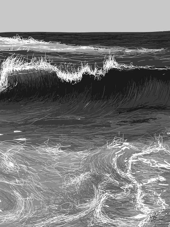 Wave 19 - Drawing - Image 0