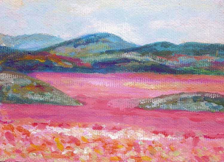 Pink Fields #1 - Image 0