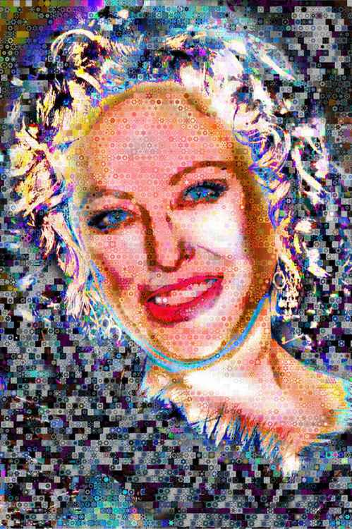 Virginia Madsen_Abstract_Collage -