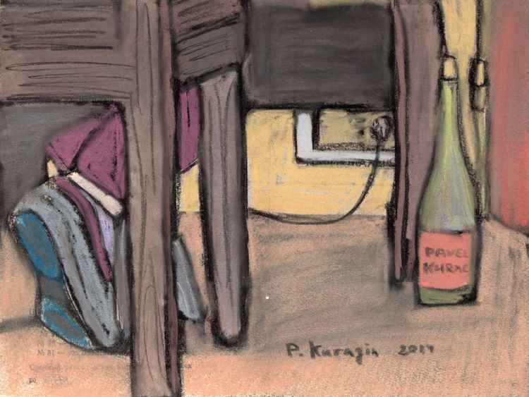 The Bottle of wine