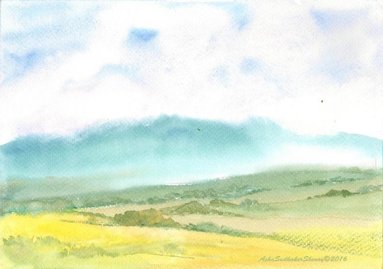 Misty mountains - Image 0