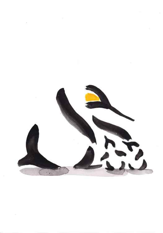 Penguin and two chicks 2130G -