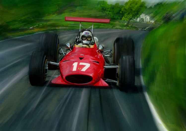 Derek Bell Oulton Park -