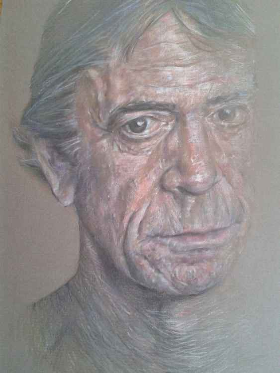 Portrait of Lou Reed -