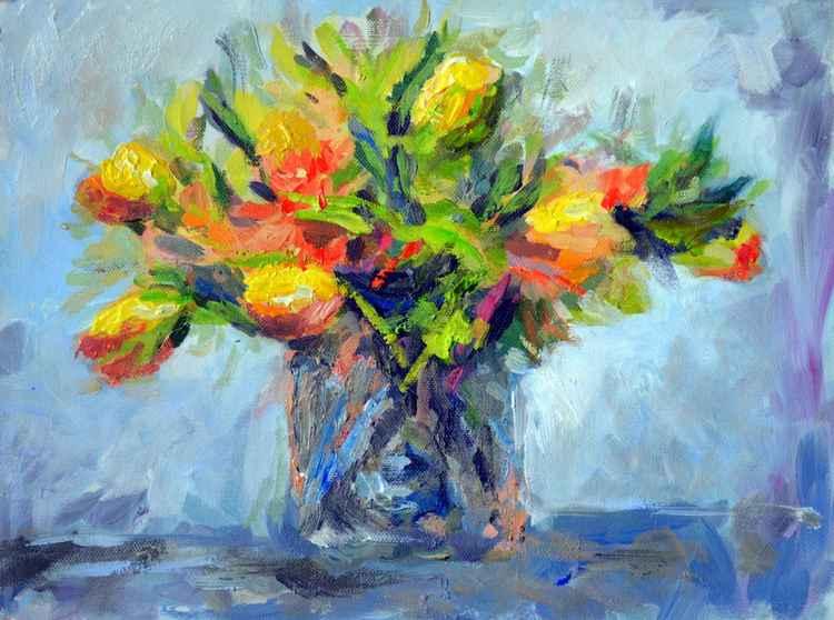 Tulips in vase -