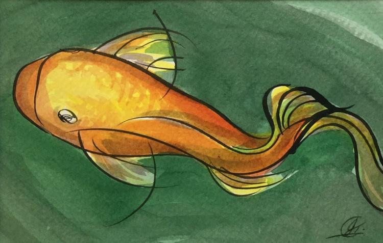 Flirty fish - Image 0