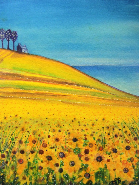 Sunflower Fields  (RESERVED) - Image 0