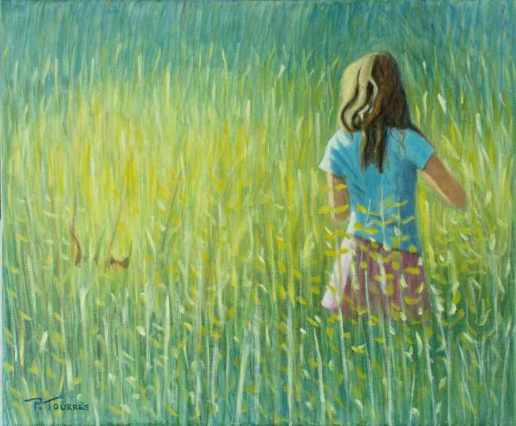Playing in the grass - Dans les herbes