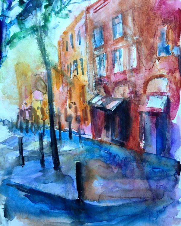 Street after rain - Image 0