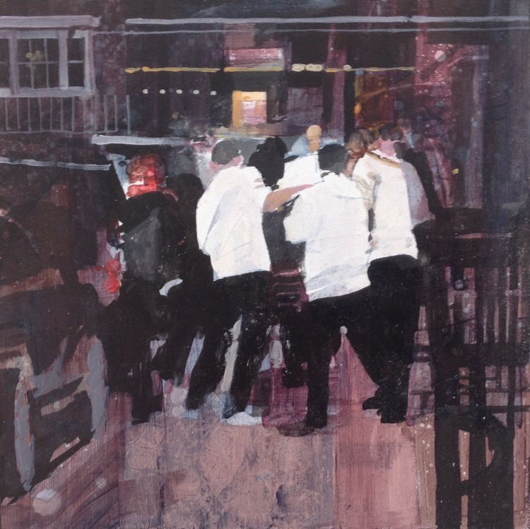 Pavement incident, Mayfair, London - Image 0