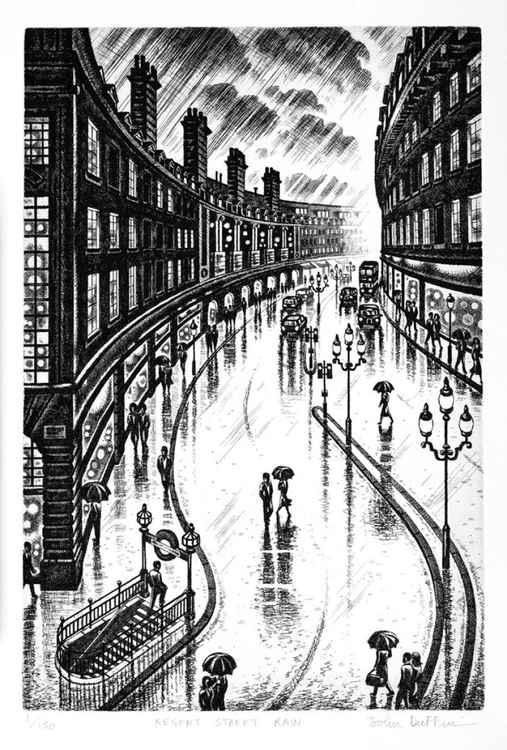 Regent Street Rain -
