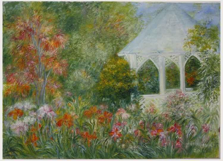 White pavilion -