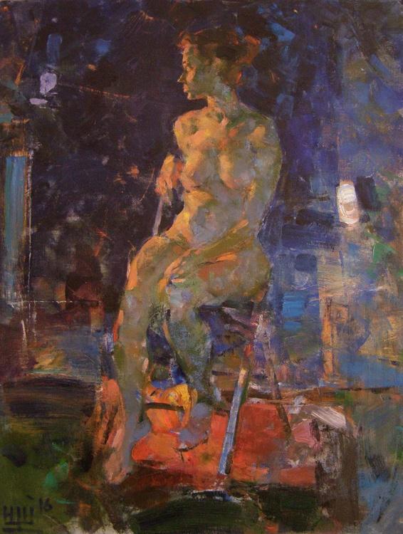 Nude in artstudio. - Image 0