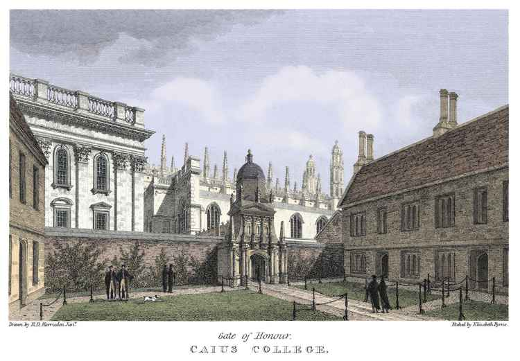 Gate of Honour, Gonville and Caius College, Cambridge