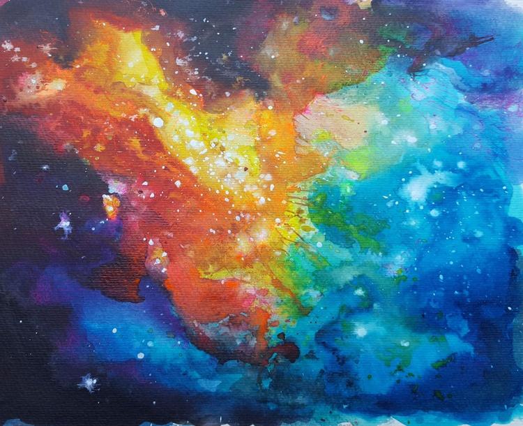 Walking between galaxies 2. - Image 0