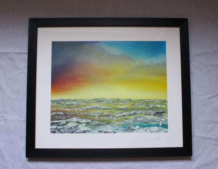 Antrim Coast 'Crashing Waves #12' - Image 0