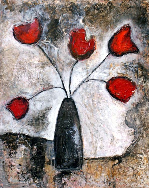 5 Sister Roses - Image 0