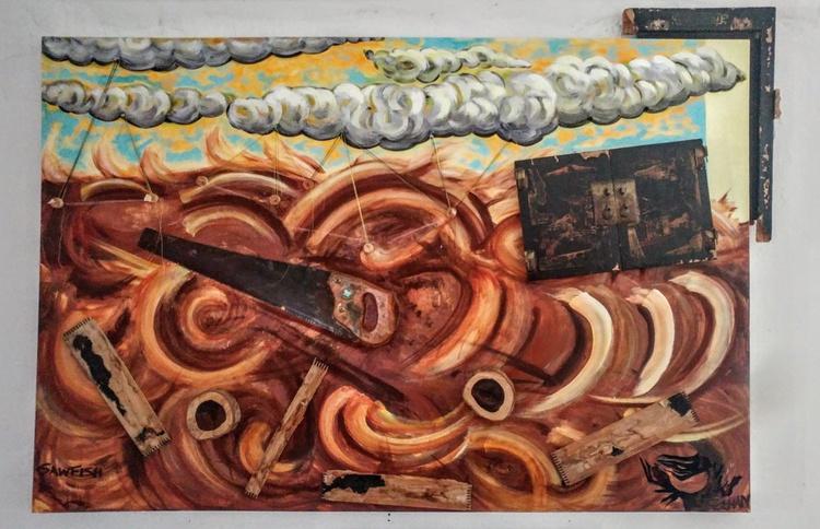Sawfish and Sea Chest - Image 0