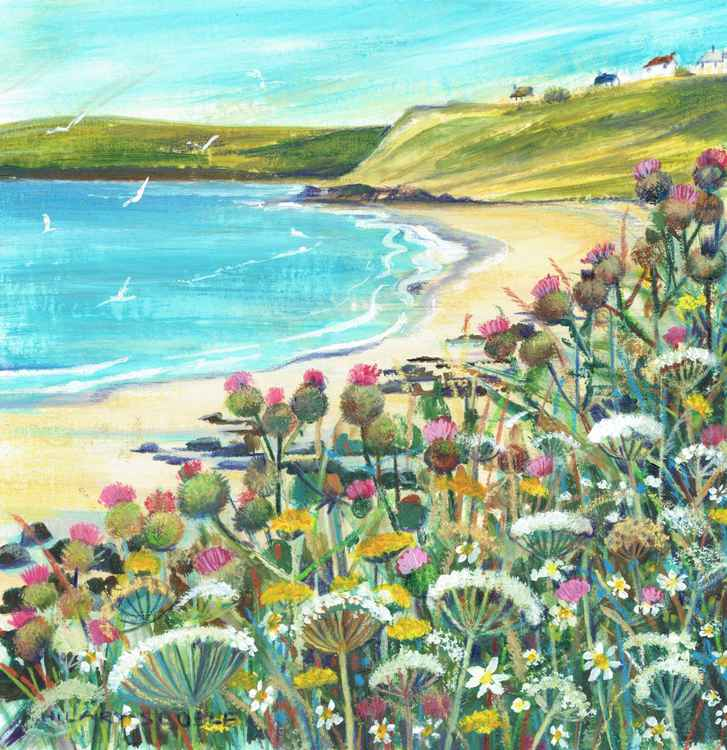 Wild flowers at Sennen Cove
