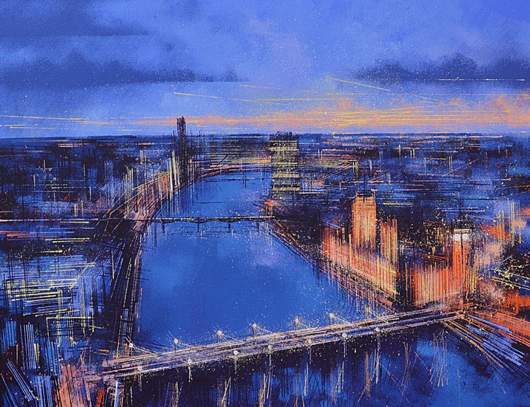 The Thames At Night - Image 0