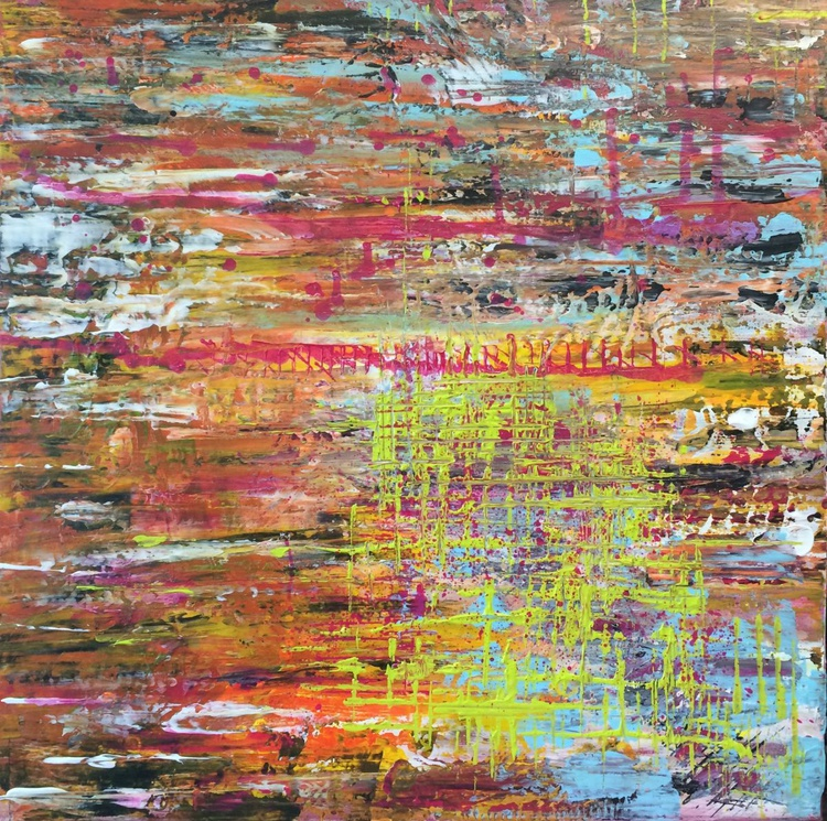 Ways 2012 - - Abstract Acrylic Painting , - Image 0
