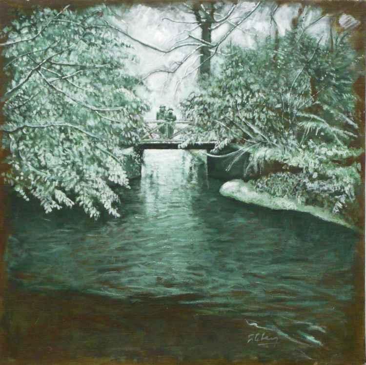 Petit pont neigé    (Cat N° 3169) -