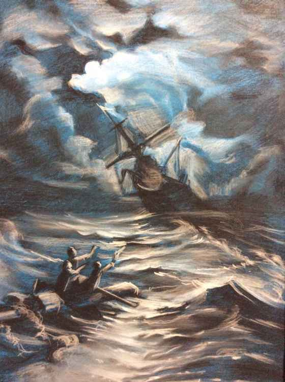 Shipwreck. -