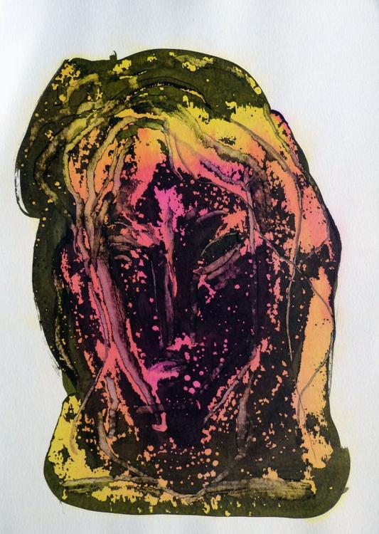 Automnal Portrait, 29x42 cm - Image 0
