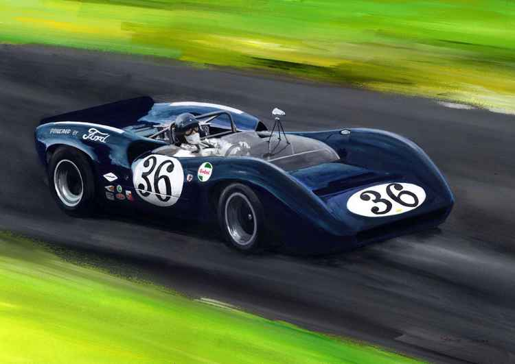Dan Gurney   Can Am -