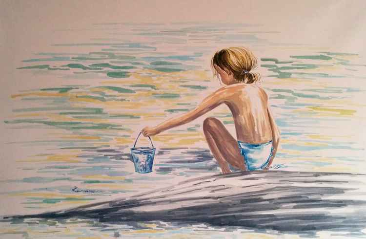 For water  24x 36 inch -