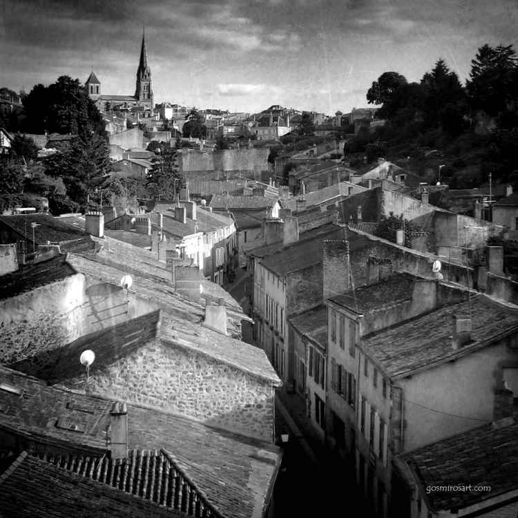 Roofs of Parthenay -