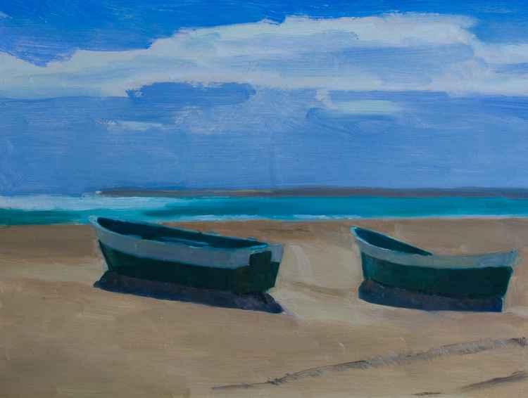 Sorolla's boats -