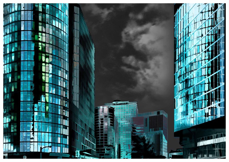 Blue City III - Image 0