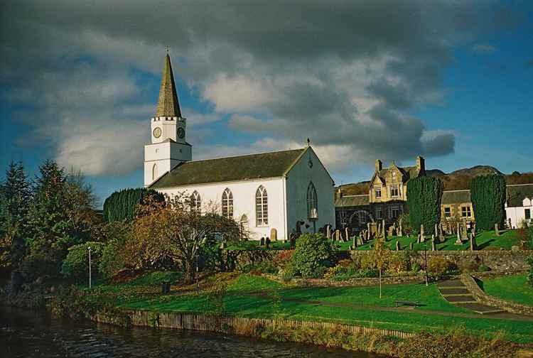 Comrie White Church, Perthshire -