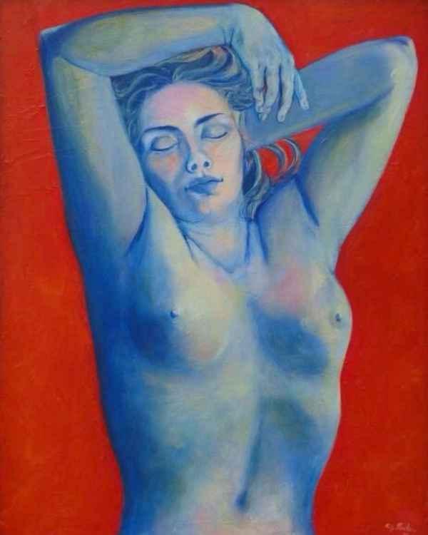 Recumbent Nude -